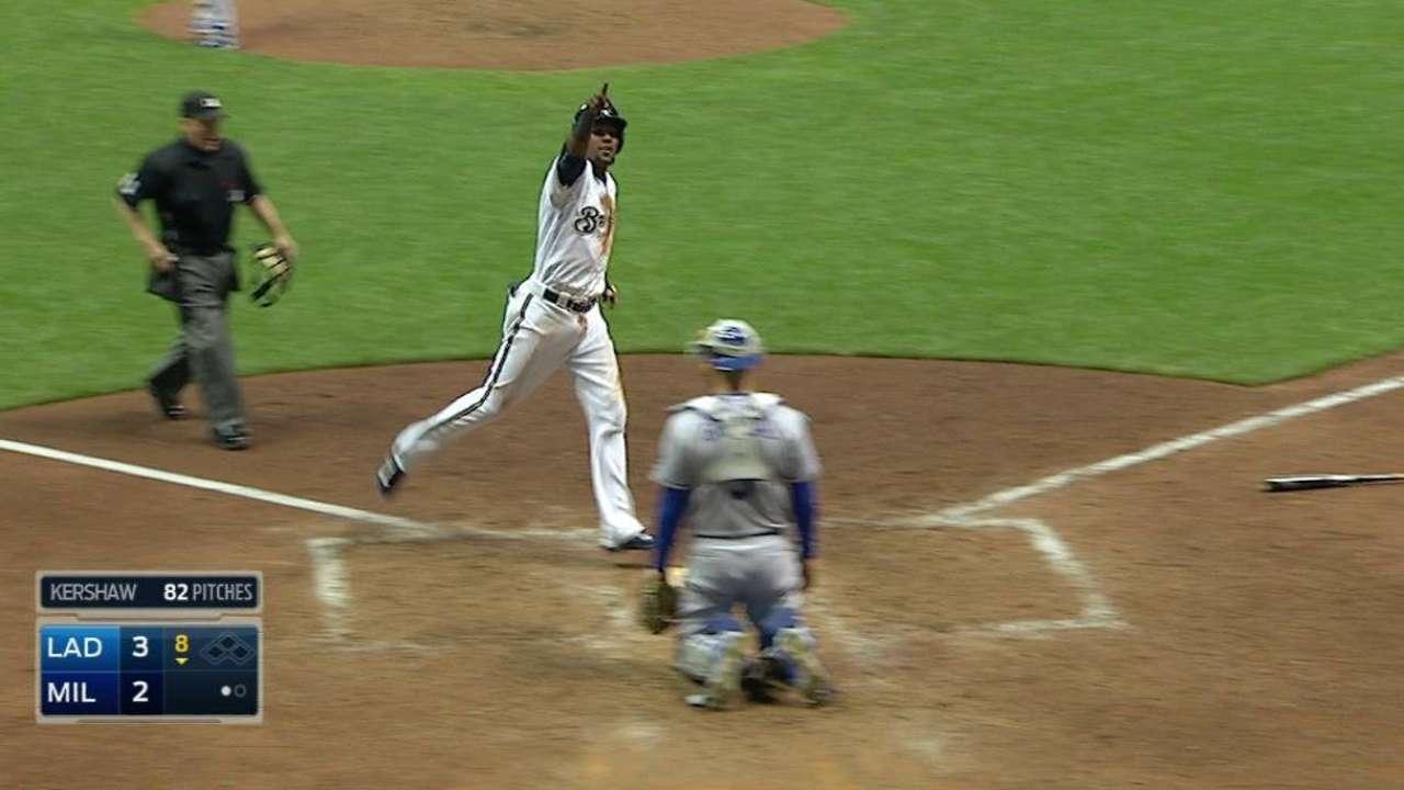 H. Gomez's solo home run