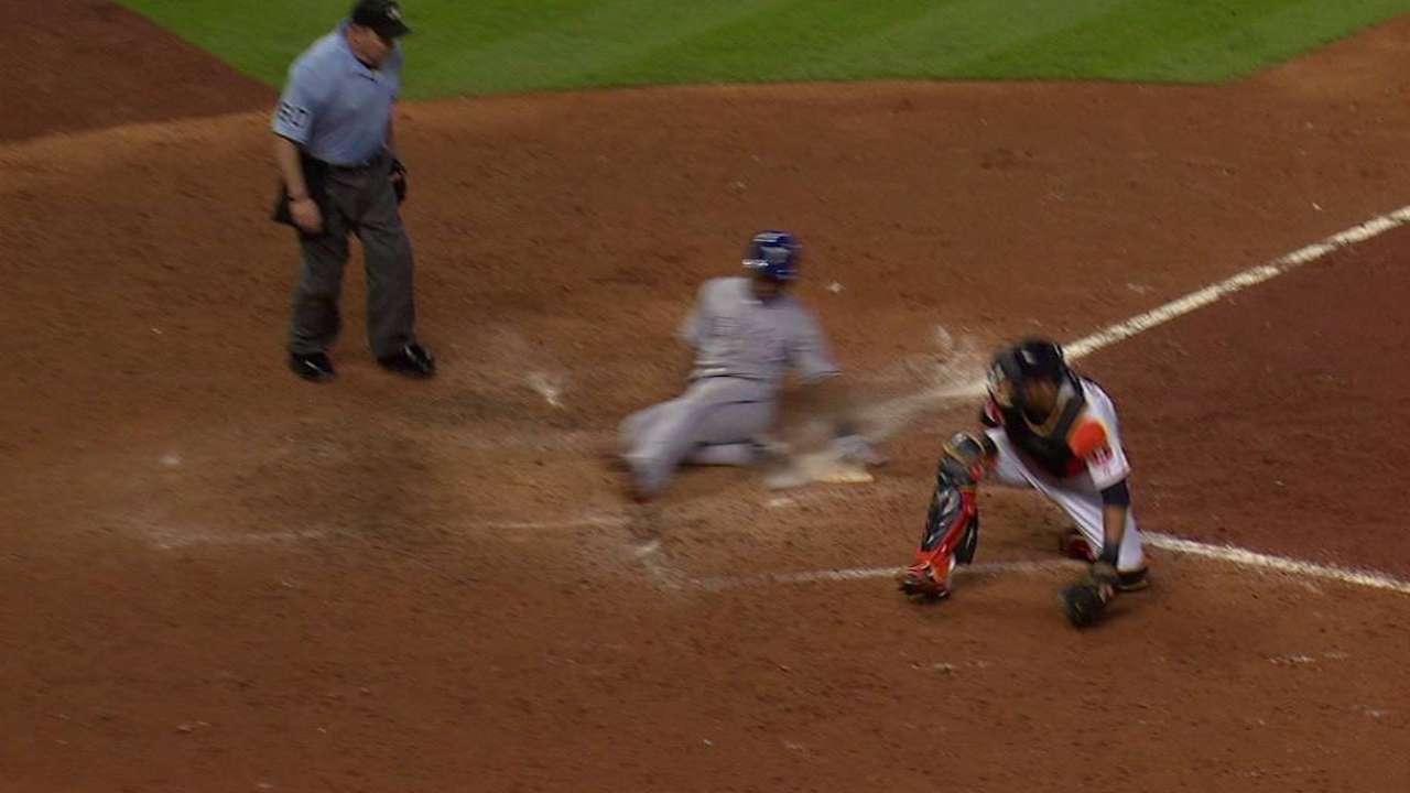 Chirinos, Rangers cortaron racha triunfal de Astros