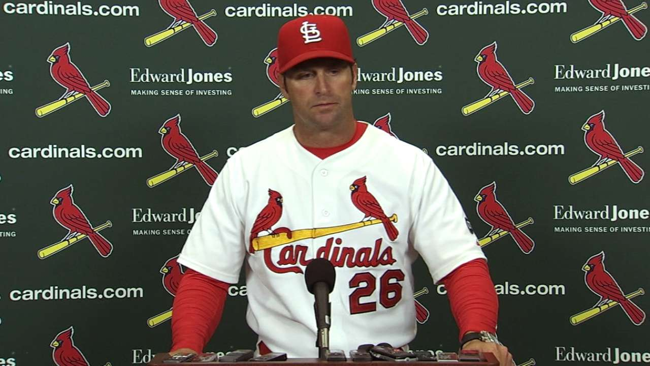 Matheny pieces together overworked bullpen