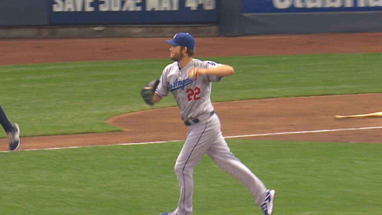 Kershaw's strong outing
