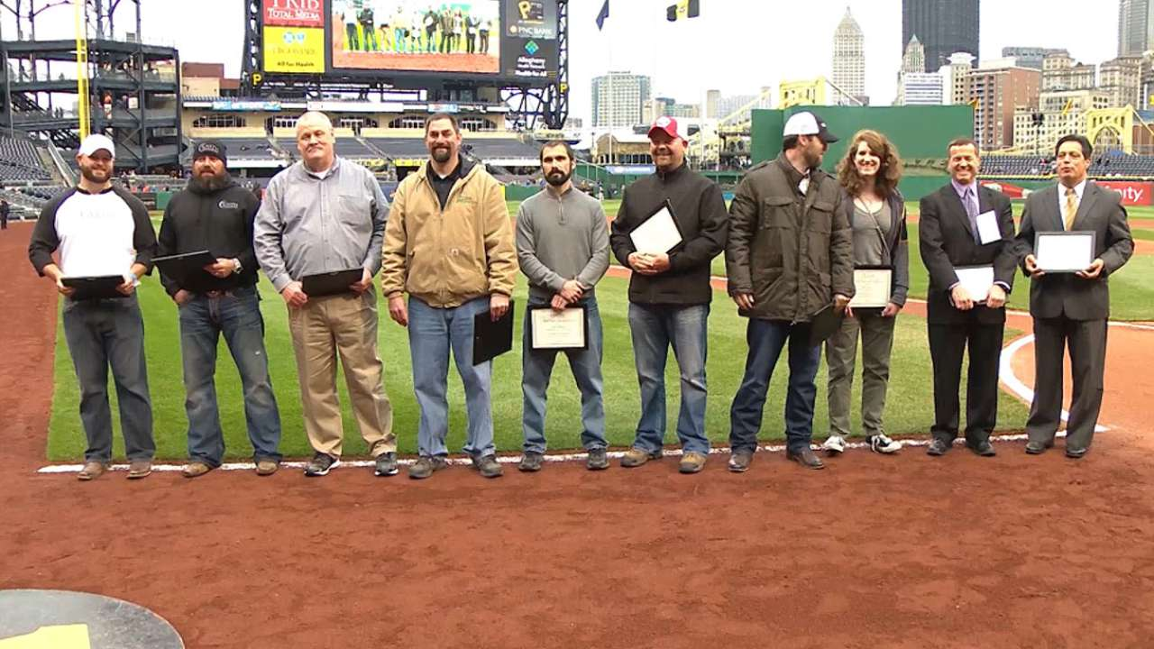 MLB pitches greener future for Earth Day