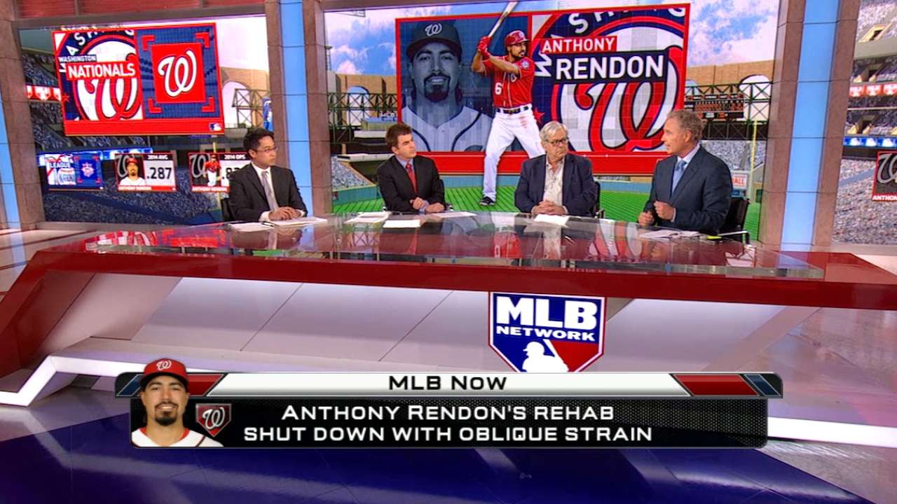 Nats focus on long term in Rendon's setback
