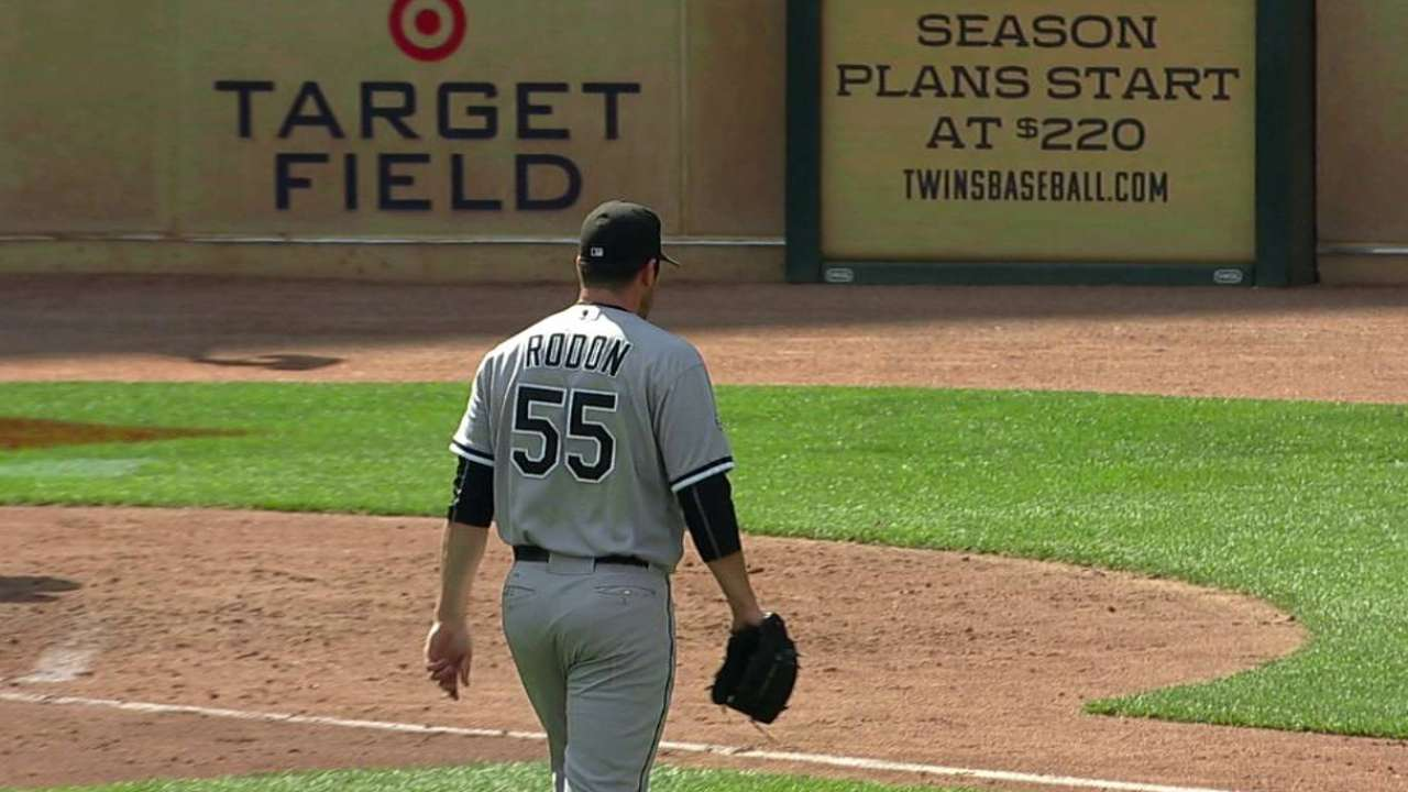 White Sox monitoring Rodon's innings total