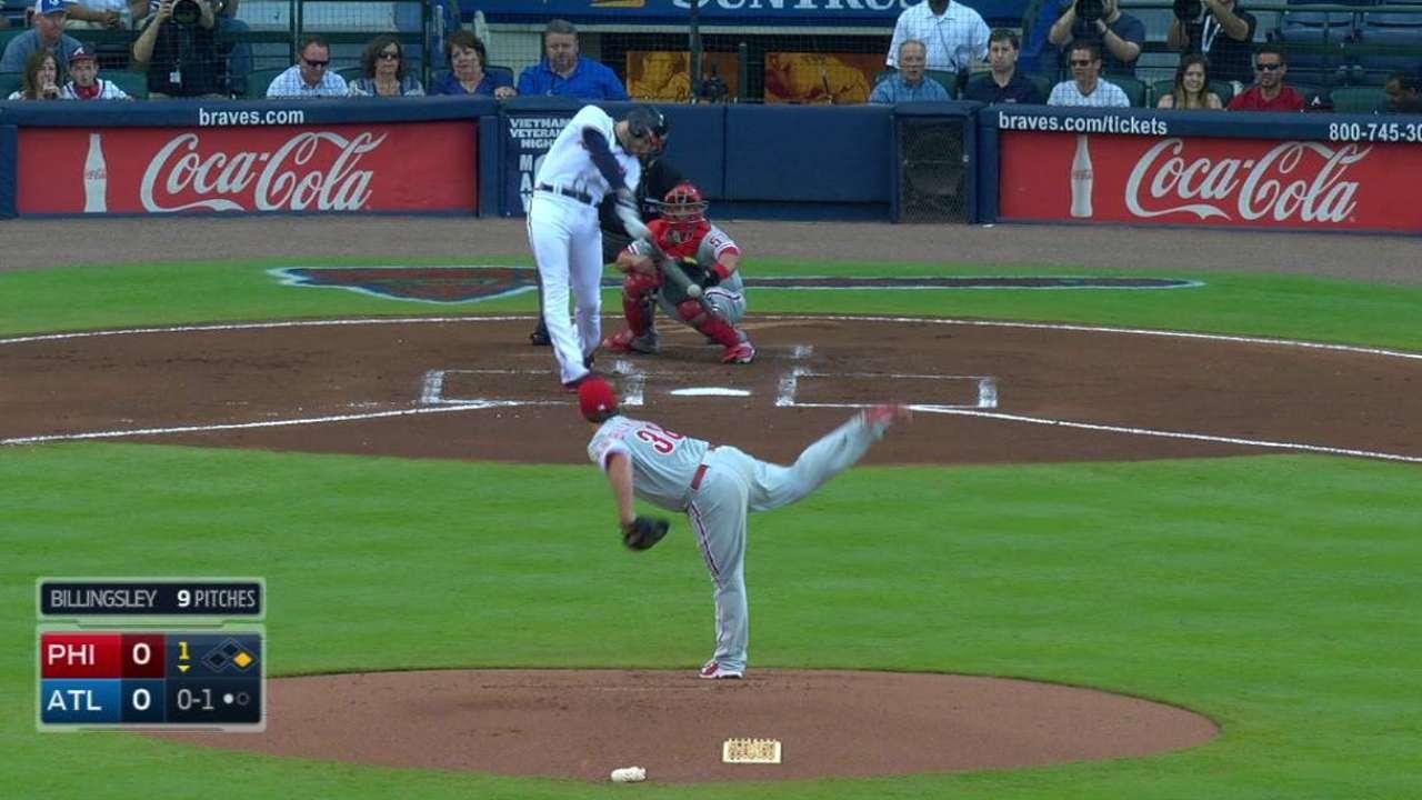 Freeman's two-run homer