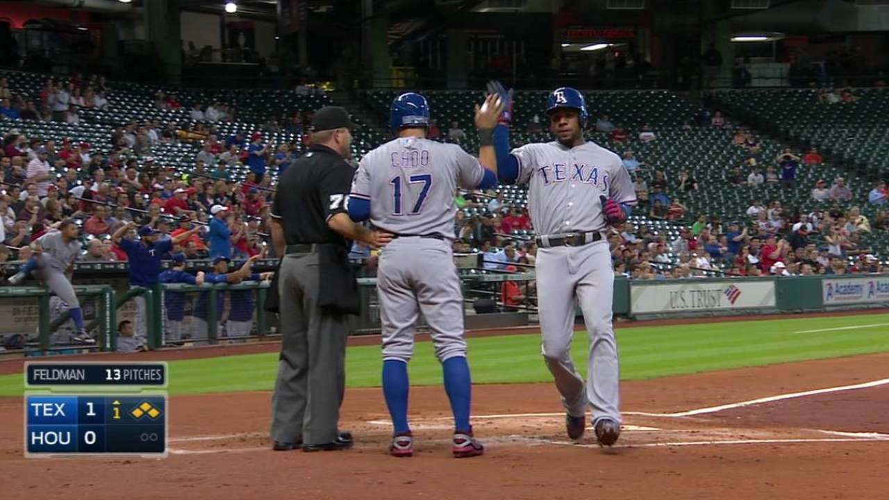 Key offensive pieces heating up for Rangers
