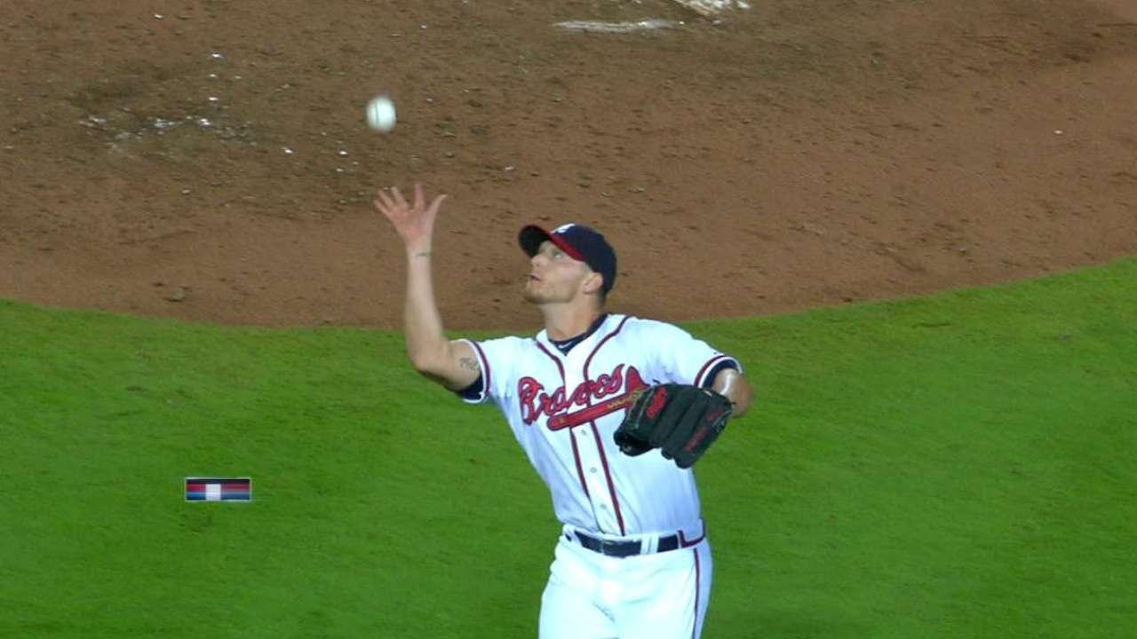 Miller's barehanded play