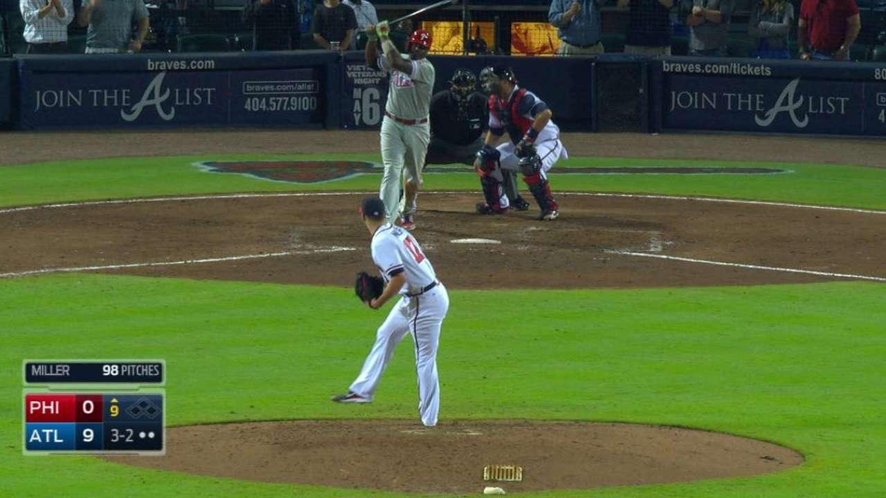 Miller's final strikeout
