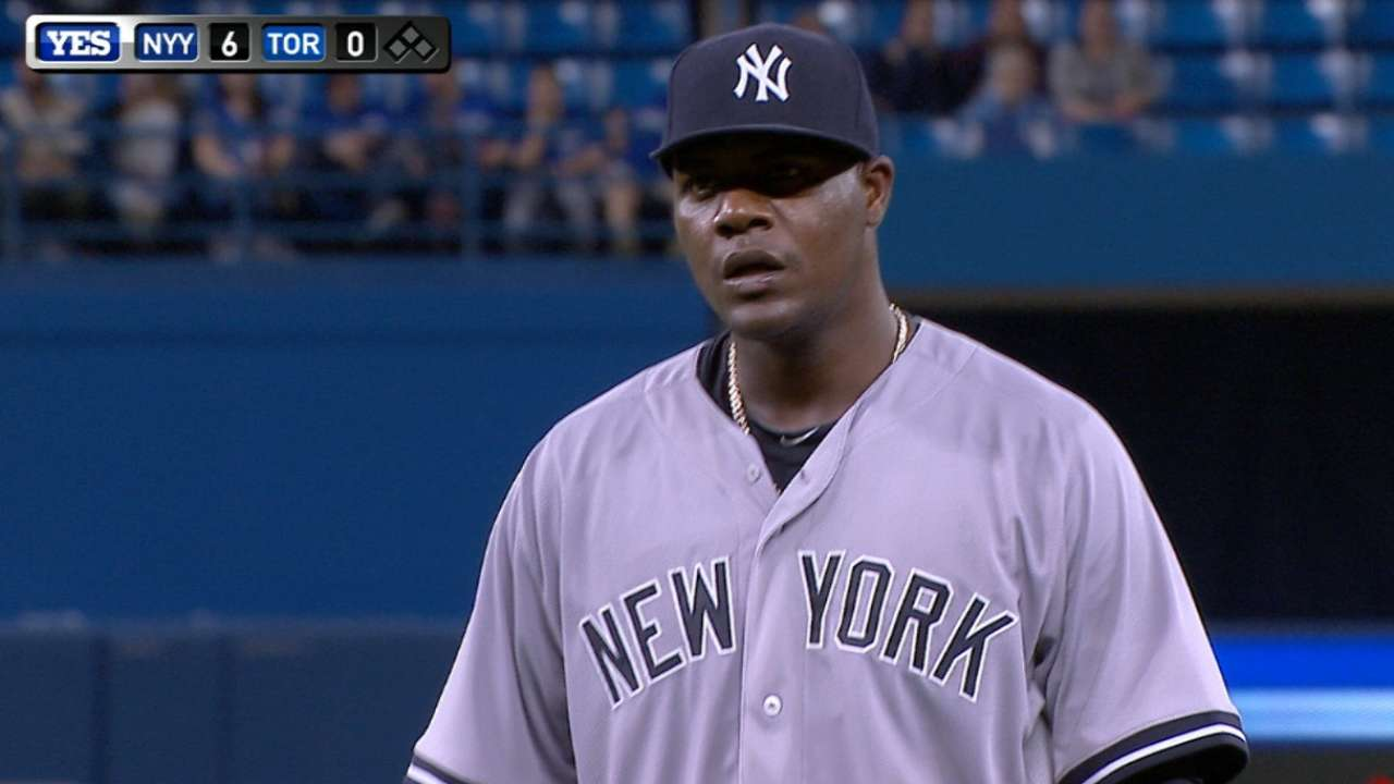 Pineda's scoreless outing