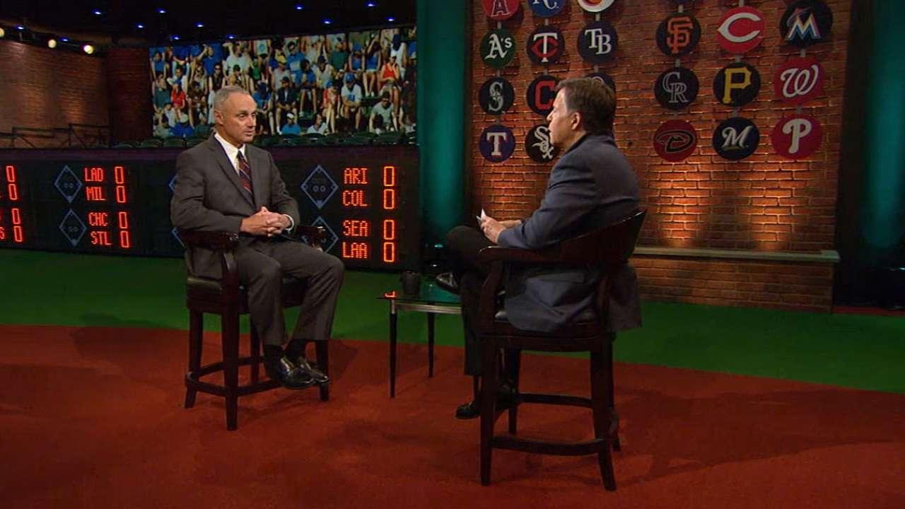MLB Tonight: Manfred on Rose