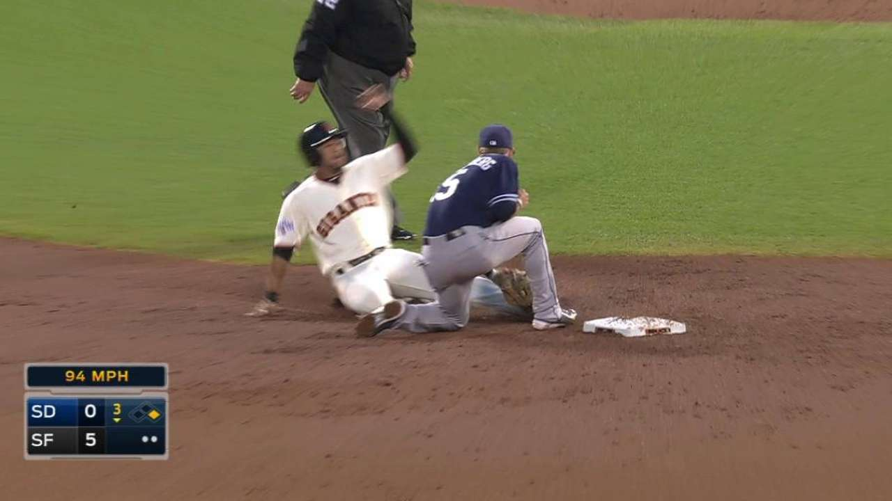 Norris throws out Blanco
