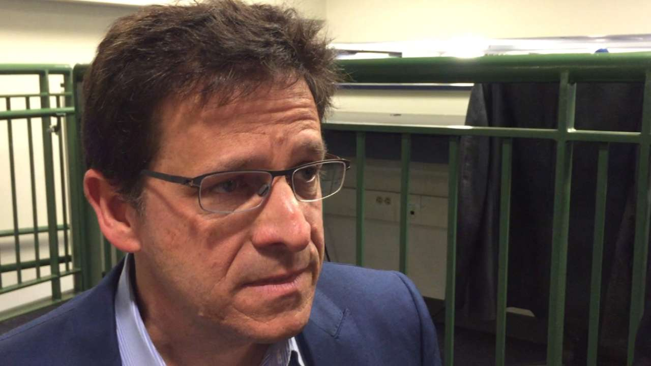 Attanasio on changing managers