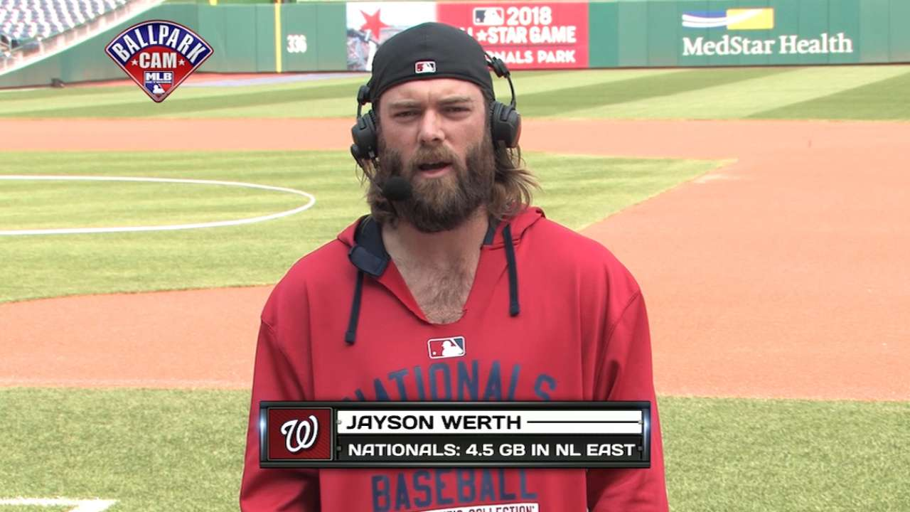 Werth expected back in Nats' lineup Friday