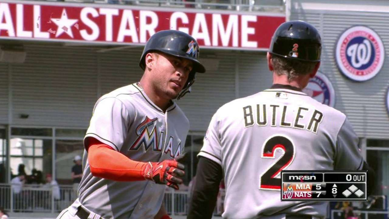 Stanton's three-run blast