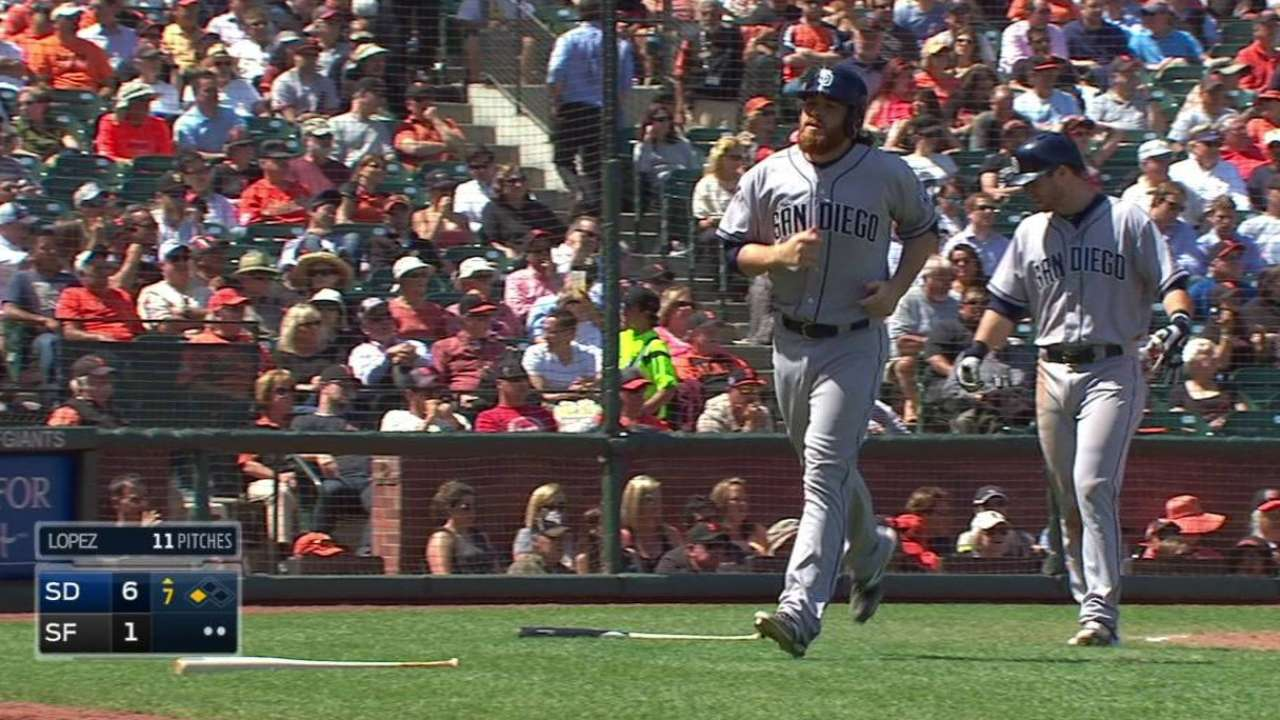 Potent Padres offense gets back on track