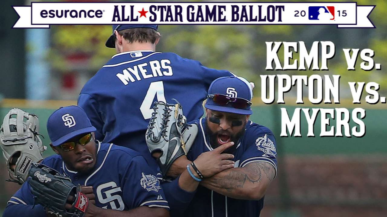 ASG debate: Padres trio in mix for NL outfield