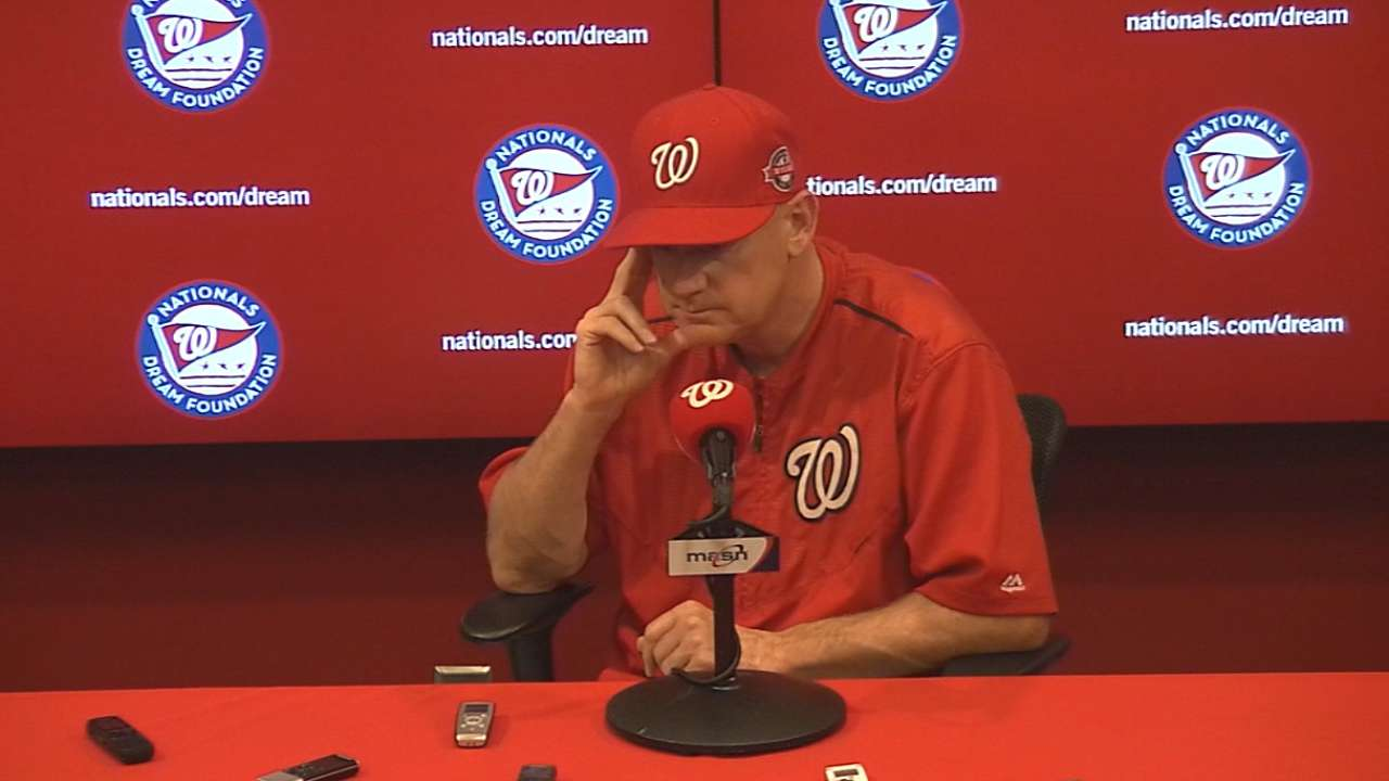Harper appears ready to carry Nationals