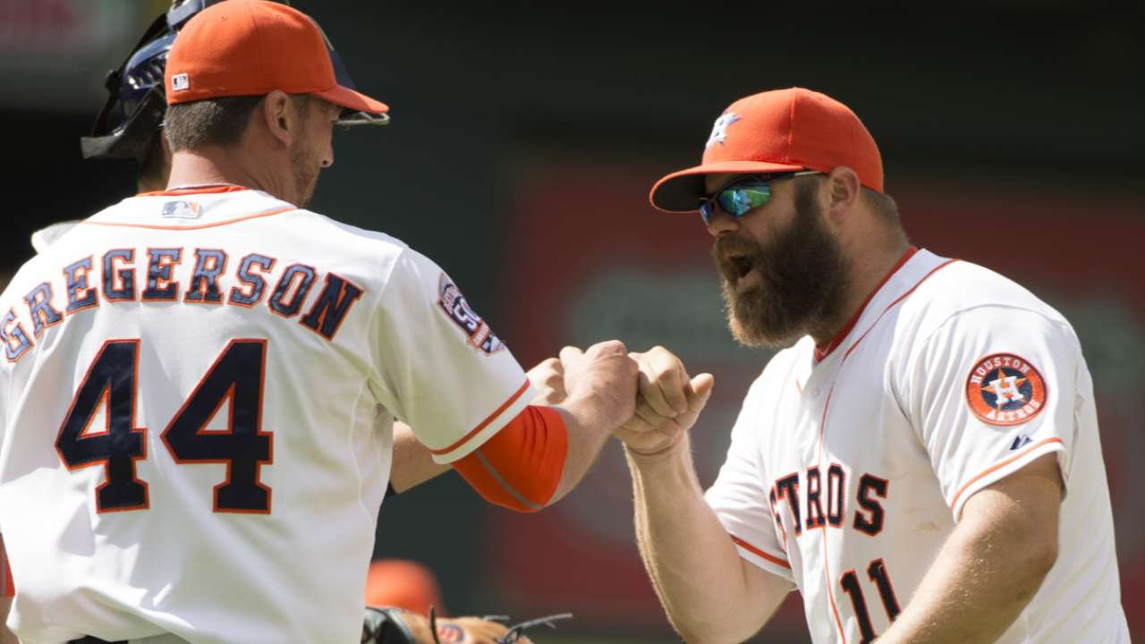 Manfred appreciates Astros' fast start to 2015