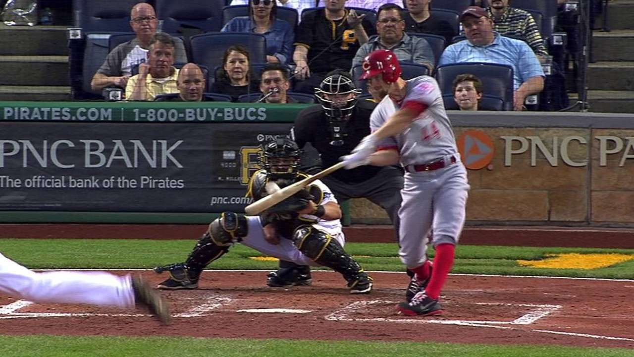 Leake's RBI double