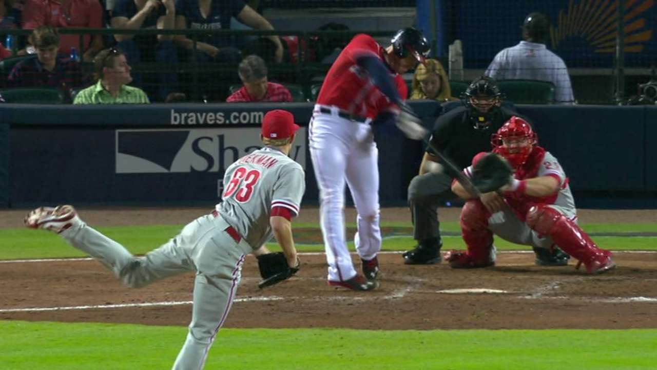 Freeman really starting to heat up for Braves
