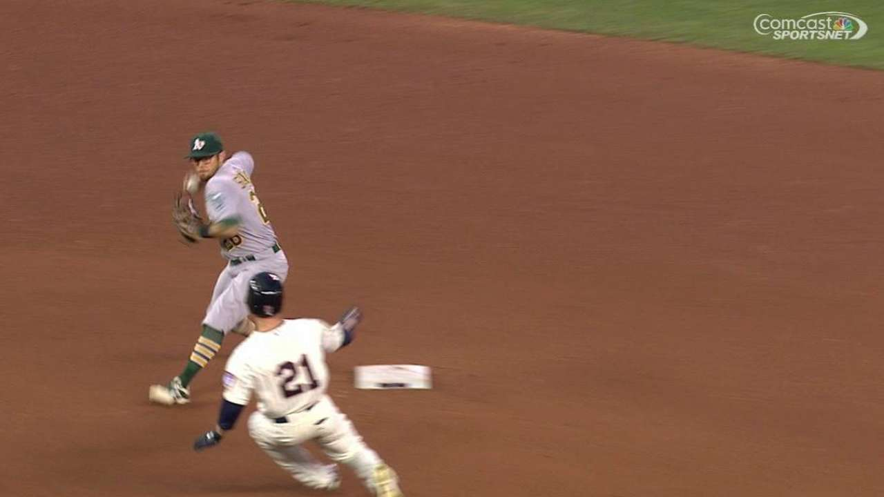 A's unable to build on momentum once again