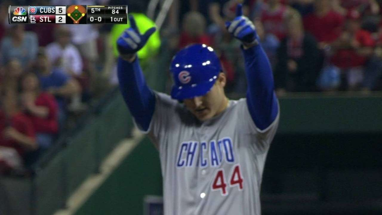 Rizzo's two-run double