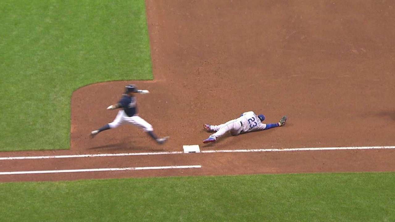 Safe call overturned in the 5th