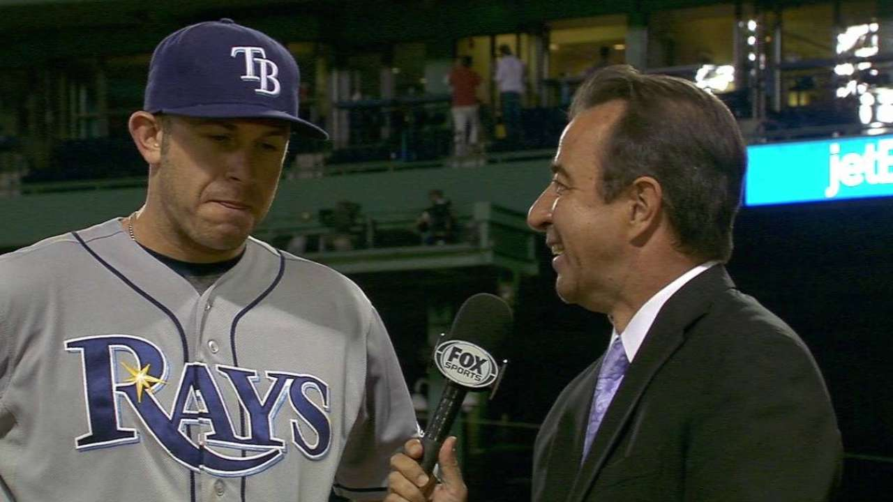 Longoria breaks out of homerless drought