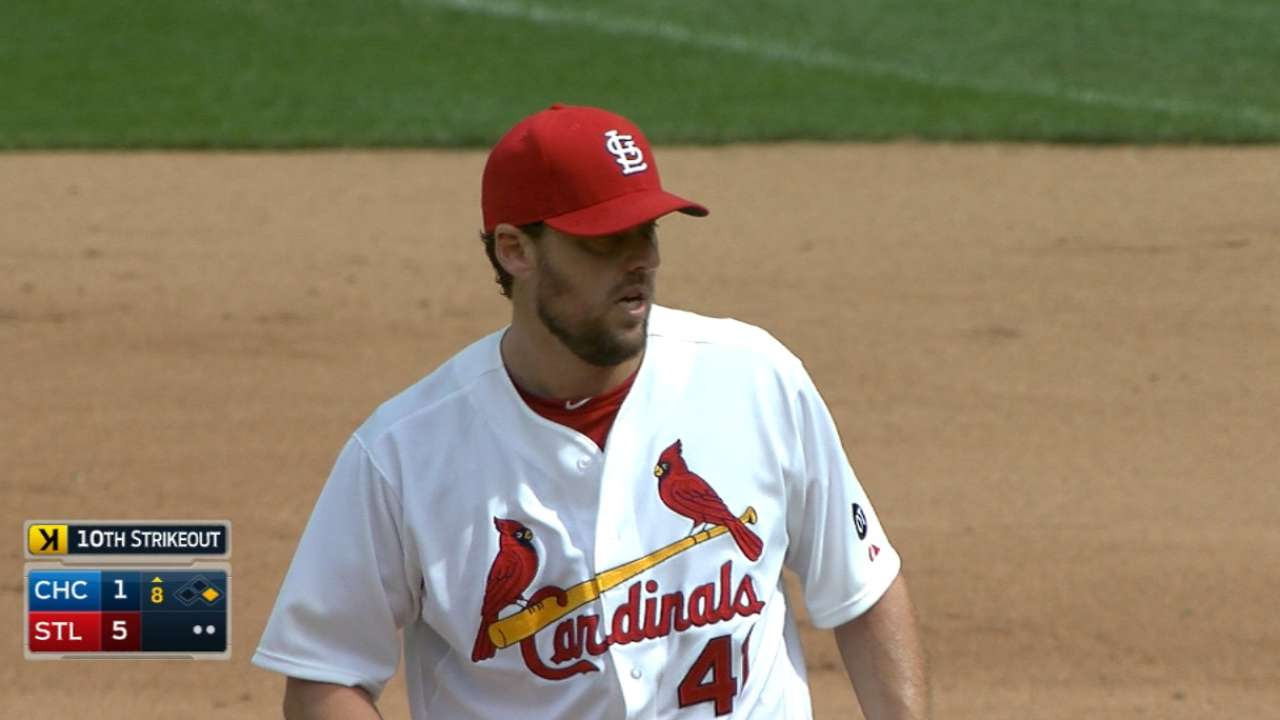 Lackey, Cards cruise past Cubs, take series