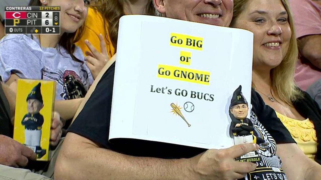 Pirates fan's Gnome Night poster