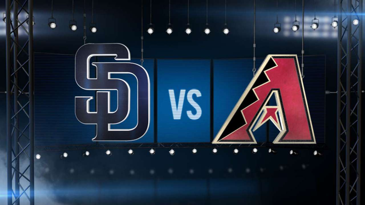 ICYMI: Cold Padres offense shutout by Snakes