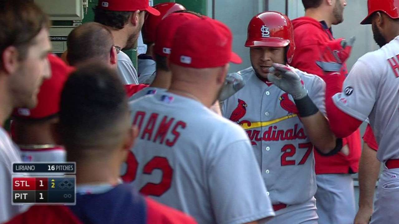 On recent run, homers giving Cards timely boosts