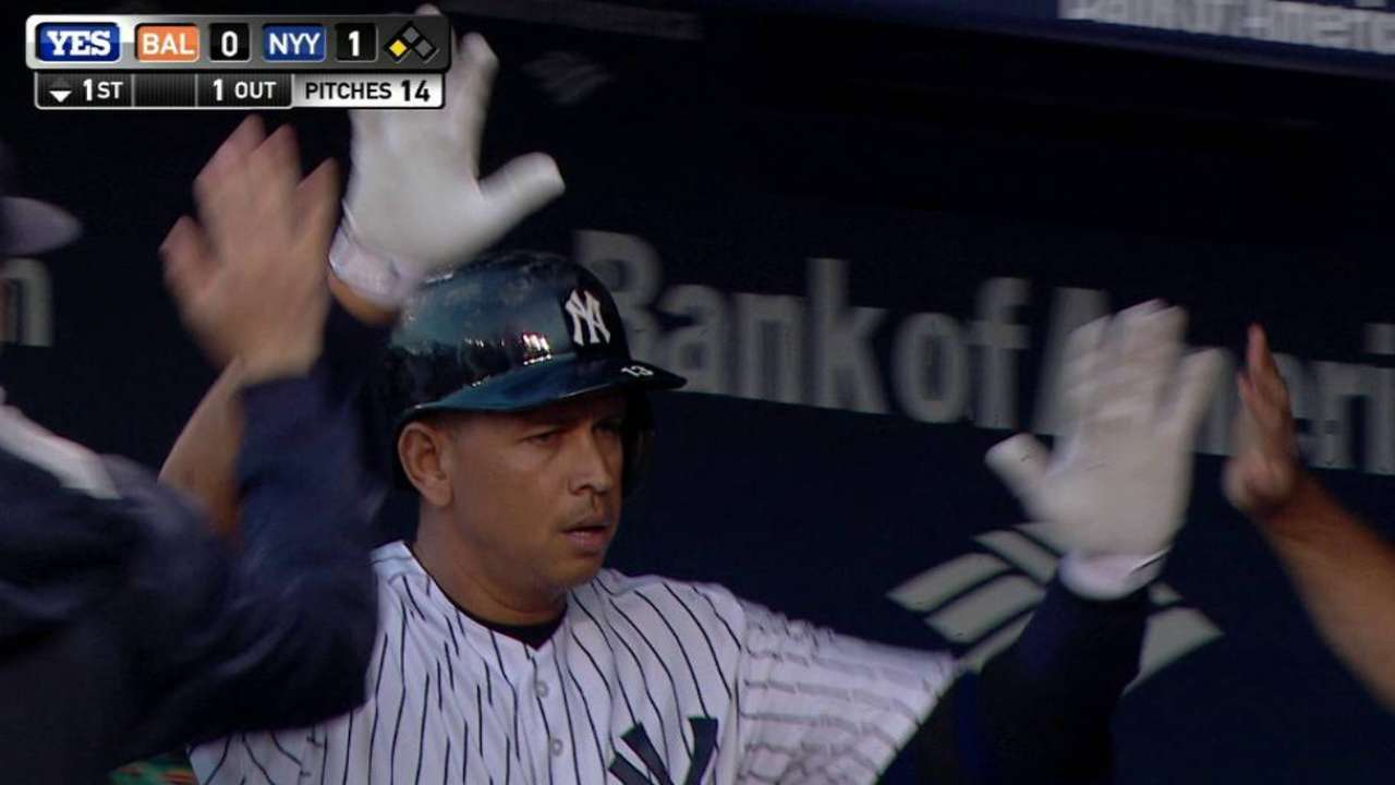 Yanks ride early strike to hold off Orioles