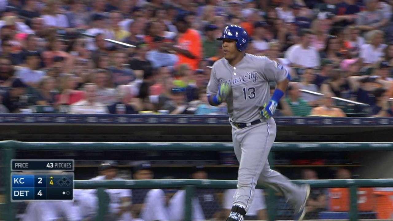 Perez's two-run blast