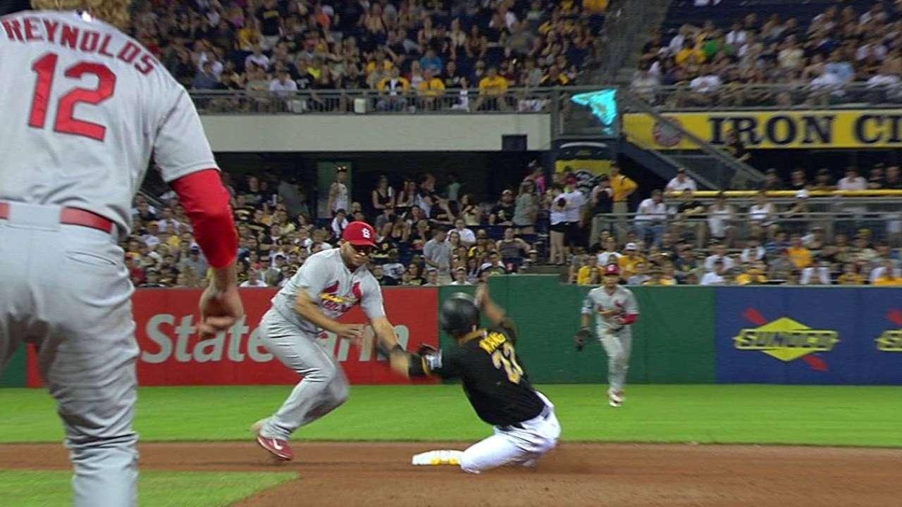 Pirates picking spots for hot-hitting Kang