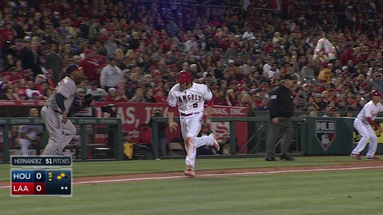 Cron gets chance to play first base on Sunday