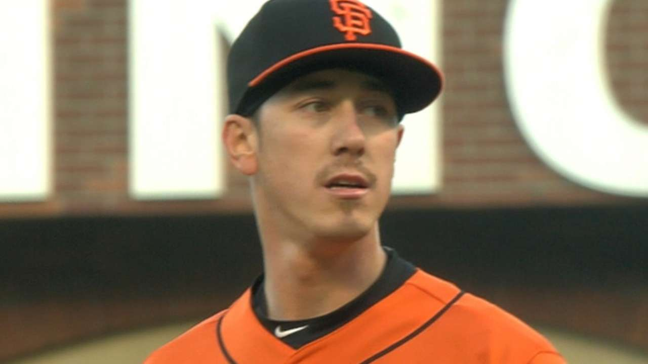 Lincecum's arm, McGehee's slam top Marlins
