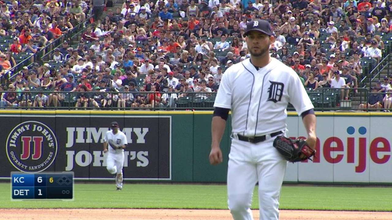 Anibal beaten to punch against AL Central rivals