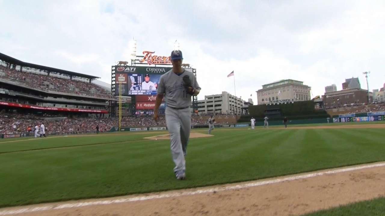 Guthrie gives bullpen much-needed break