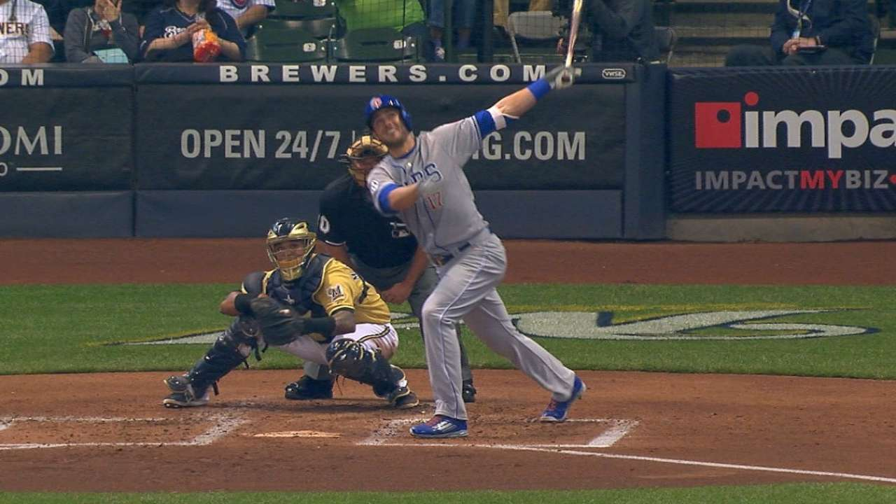 #THIS: Bryant's first home run