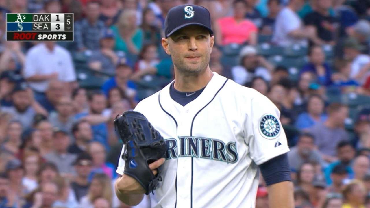 Happ's eight strikeouts