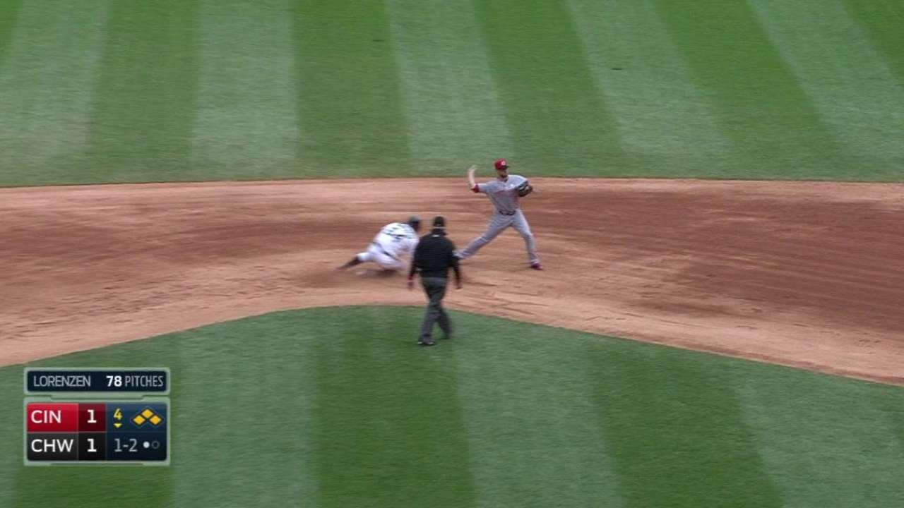 Lorenzen induces double play