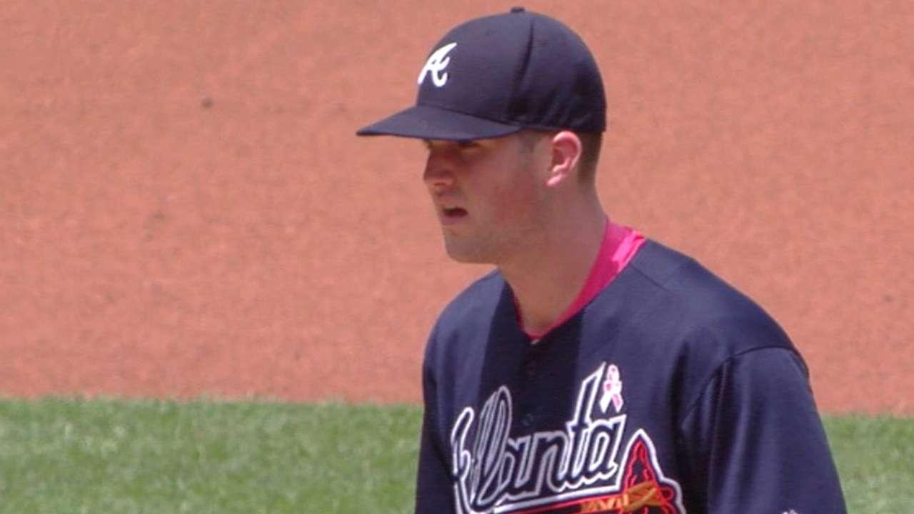 Braves optimistic despite tough weekend in Washington