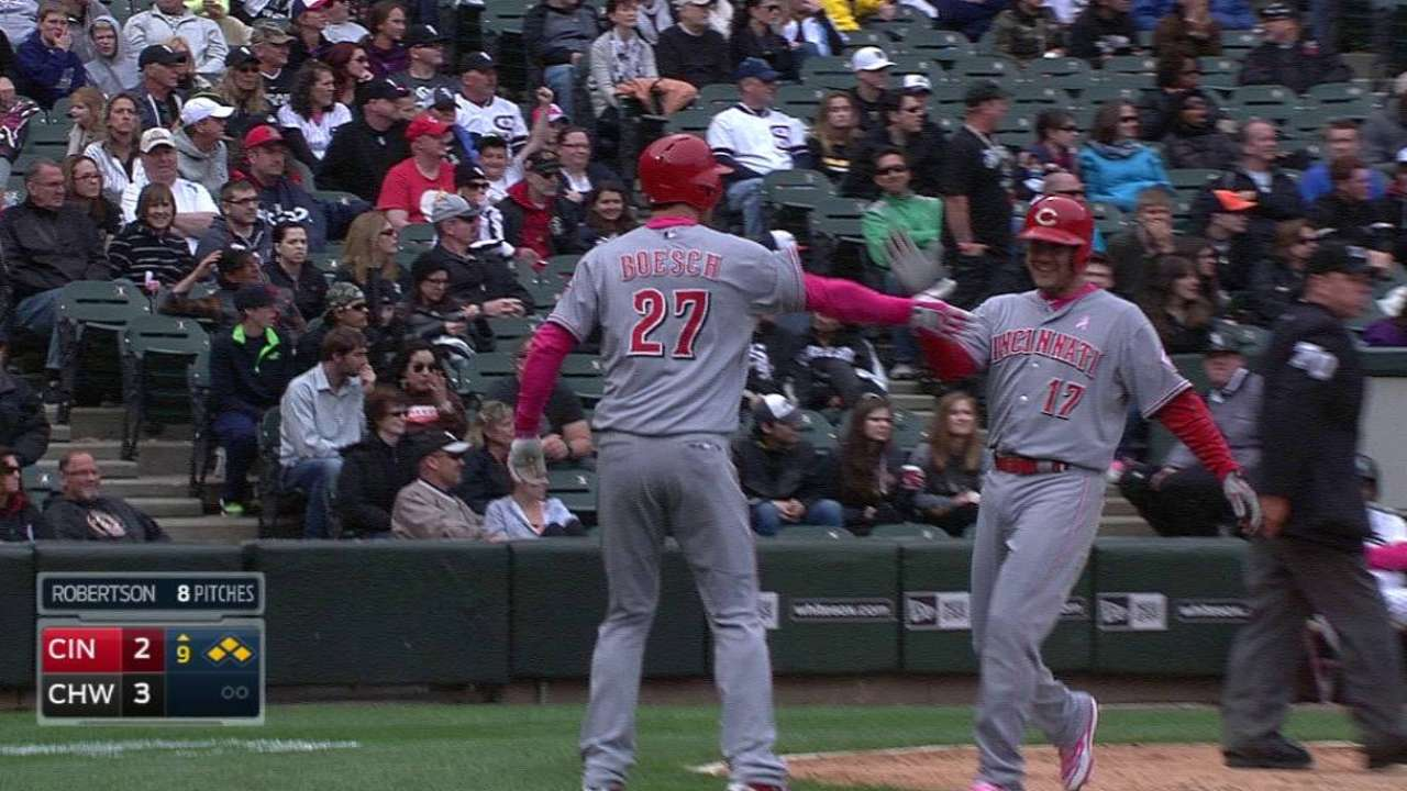 Cozart's game-tying double