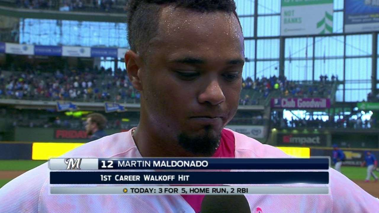 Maldonado on walk-off win