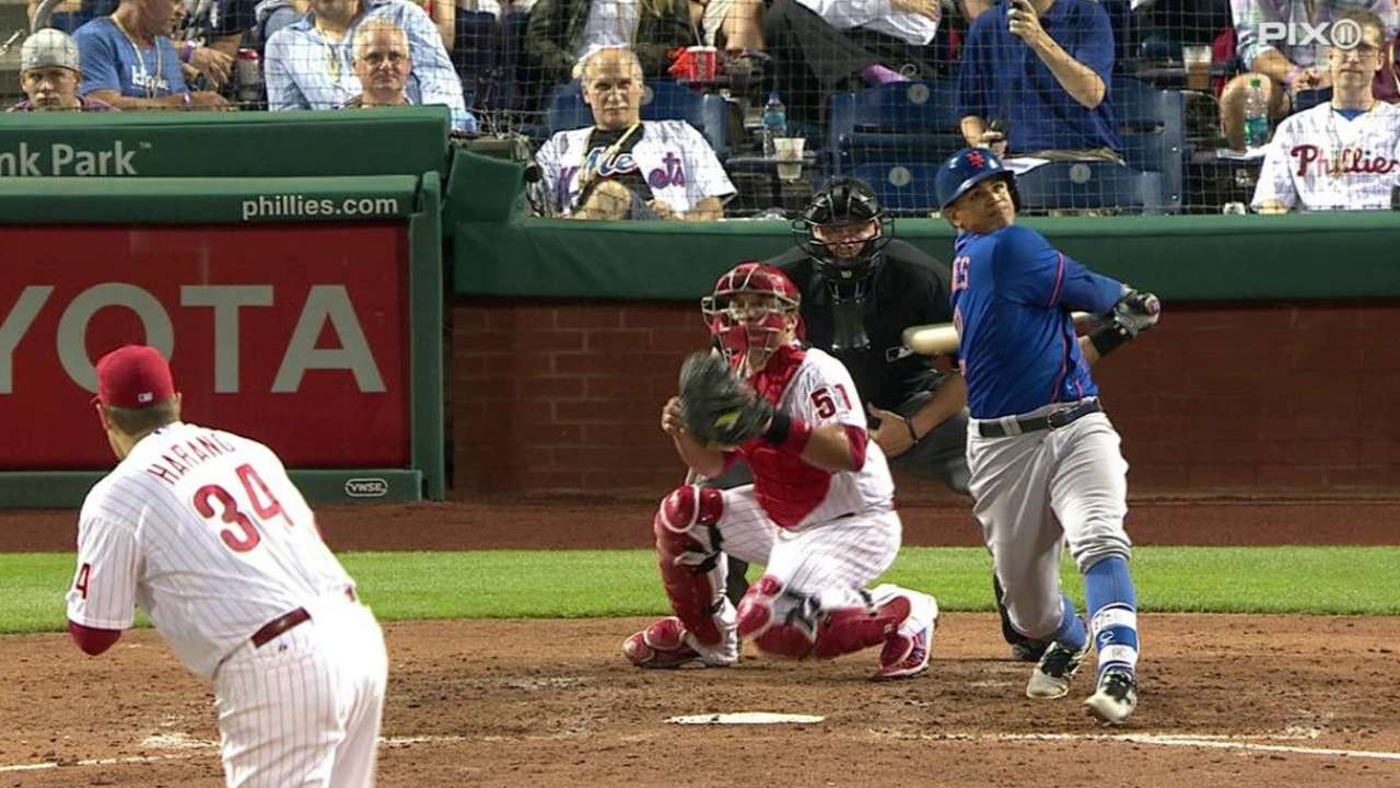 Lagares provides thump as Mets thwart Phillies