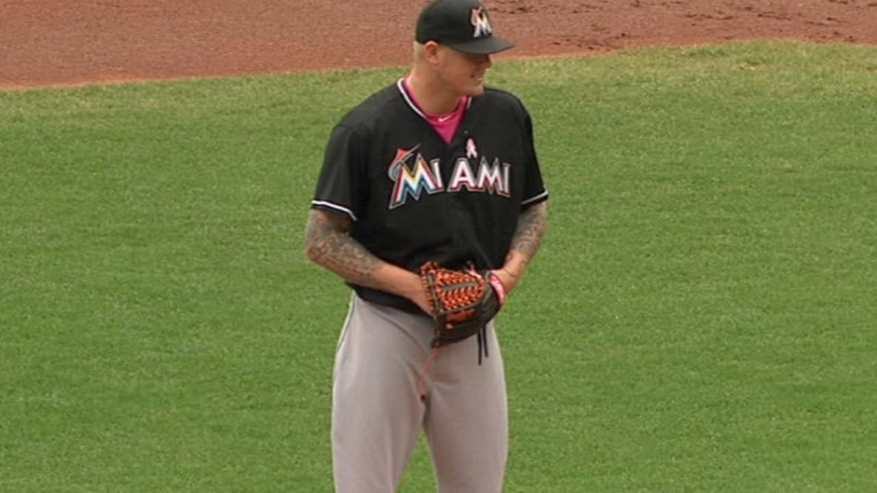 Latos' solid outing