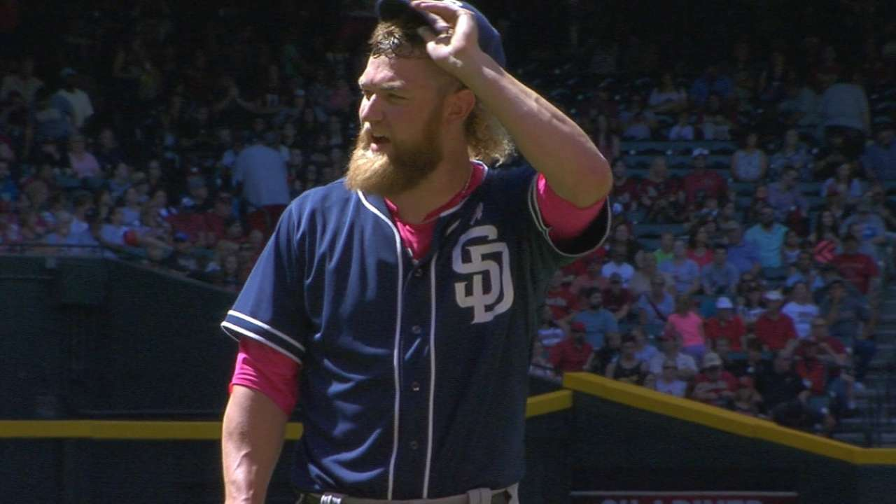Cashner tosses seven strong