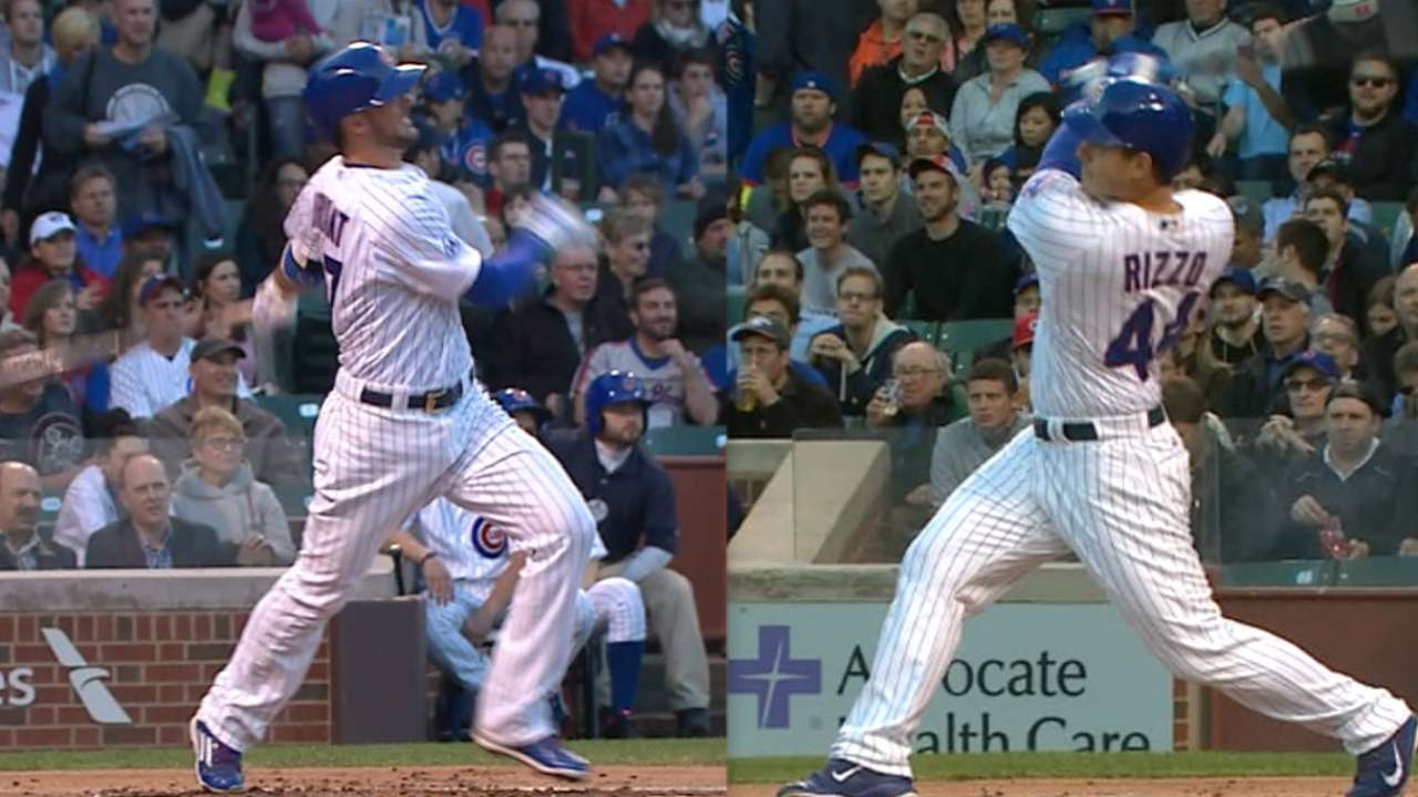 Back-to-back bleacher HRs lead Cubs over Mets
