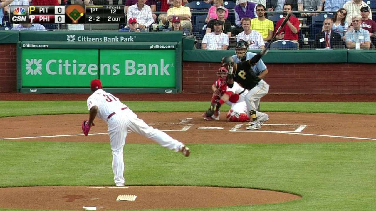 Williams strikes out Marte