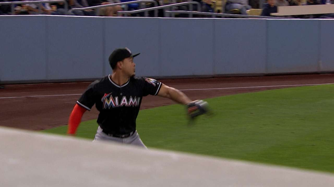 Must C: Stanton leaps, turns two